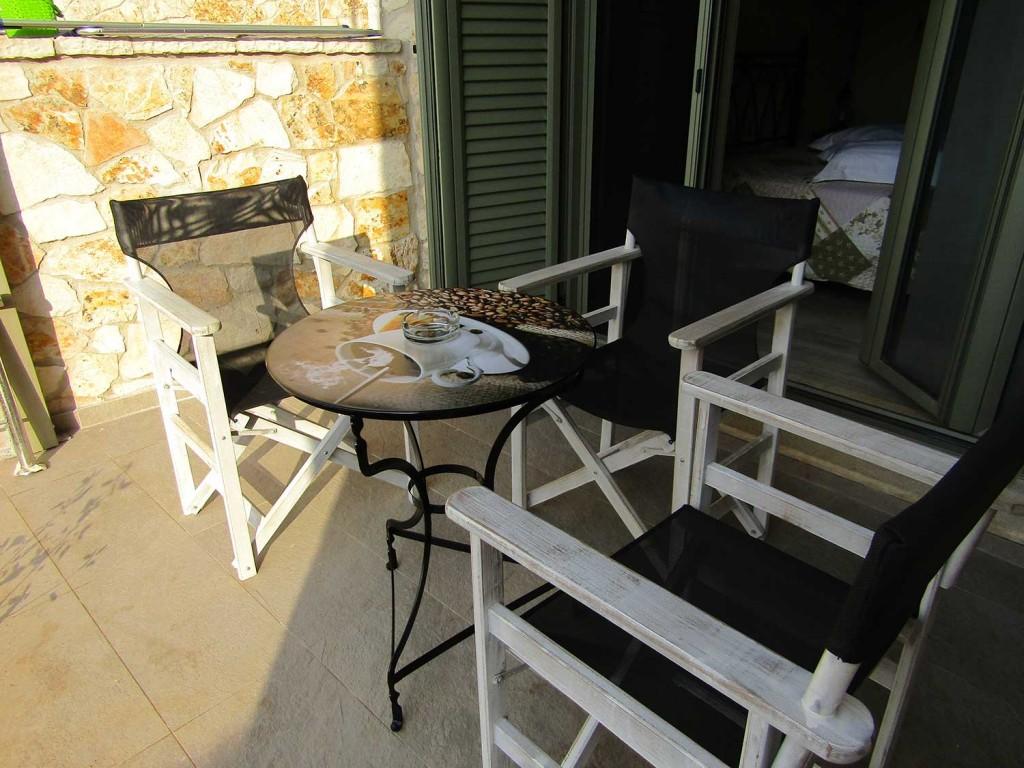Villa Lydia Meganisi Lefkada balcony picture